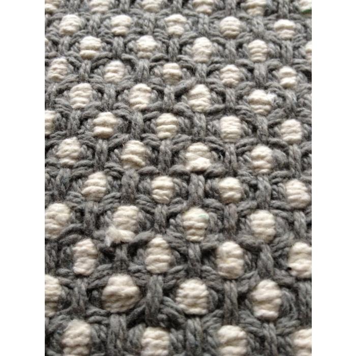 teppich dots 200 x 300 cm grau altweiss bei le bon jour. Black Bedroom Furniture Sets. Home Design Ideas