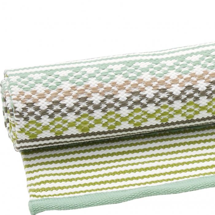 liv poly teppich knit gr nmix 140 x 200 cm bei le bon jour. Black Bedroom Furniture Sets. Home Design Ideas