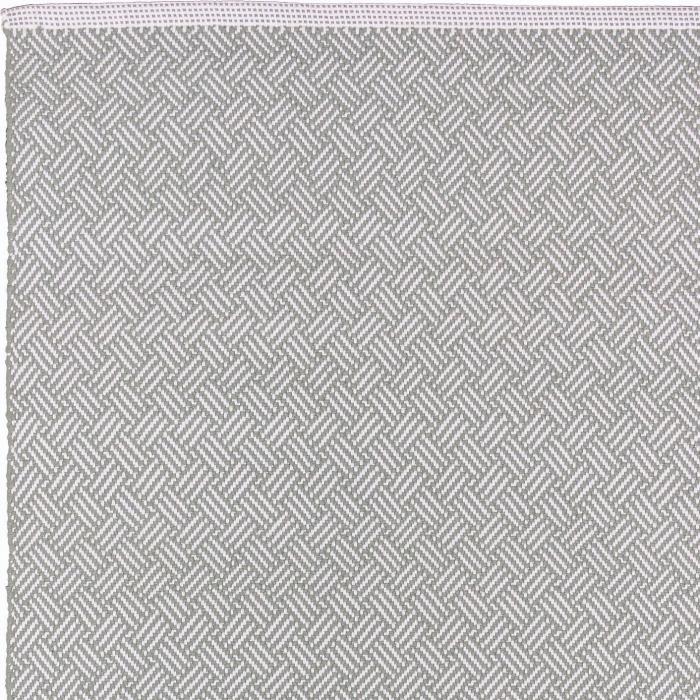 liv poly teppic lacis grau weiss 140 x 200 cm bei le bon jour. Black Bedroom Furniture Sets. Home Design Ideas