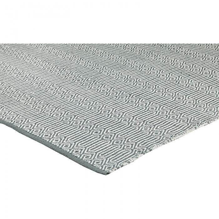 teppich braid 200 x 300 cm grau weiss bei le bon jour. Black Bedroom Furniture Sets. Home Design Ideas