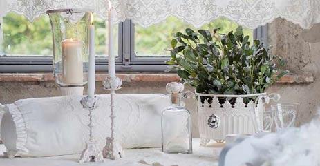 Blanc Mariclo Outlet Lusso Kerzenhalter Aus Metall Und andere Kerzen ...